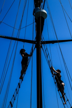 Into the Rigging